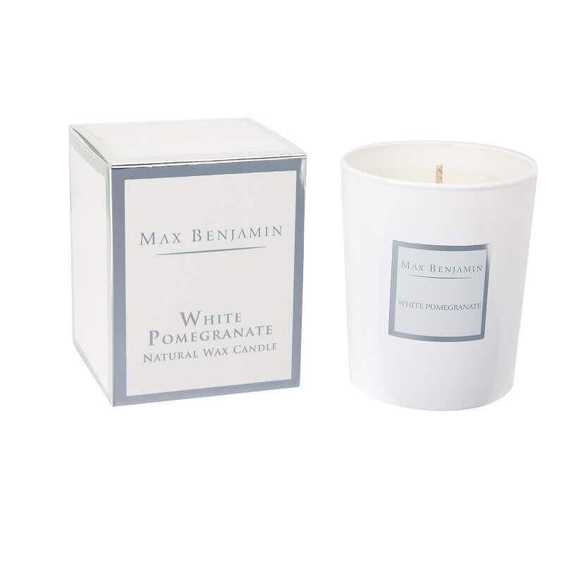 Bougie Grenade blanche - Classic Collection | La Boutique De Christelle